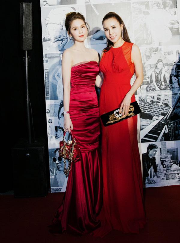 Hoa hậu Hoàng Dung diện cây hàng hiệu dự lễ trao giải - 3