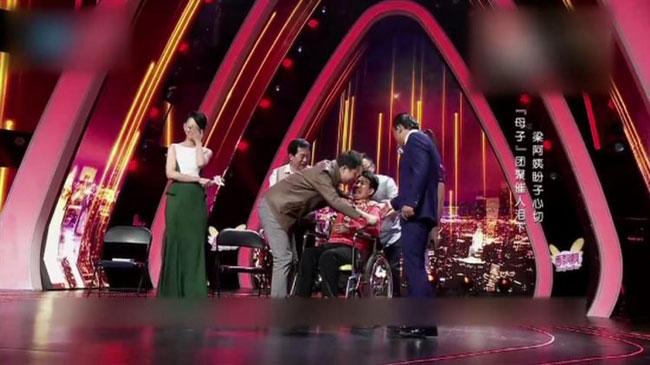Cuộc hội ngộ trên sân khấu đài truyền hình lấy đi nước mắt của rất nhiều khán giả và ngay cả người trong cuộc.