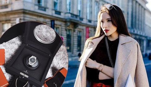 Hoa hậu Kỳ Duyên tậu đồng hồ nạm kim cương đón Tết