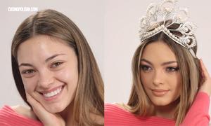 Hoa hậu Hoàn vũ 2017 tiết lộ quy trình trang điểm cầu kỳ đến chóng mặt