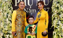 Con trai Thu Trang - Tiến Luật hiếm hoi xuất hiện bên bố mẹ