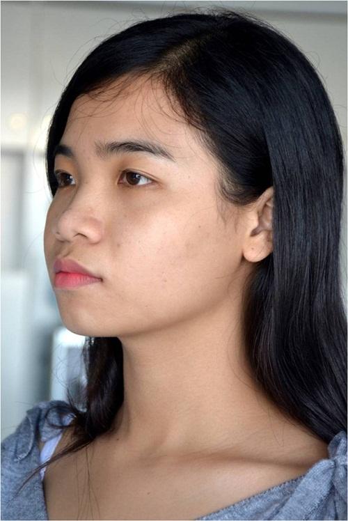 Hình ảnh khi Thanh Tuyền chưa nâng mũi.