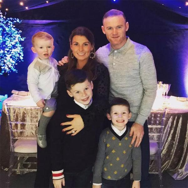 Rooney - Coleen sắp đón cậu nhóc thứ 4. Ảnh: NS.