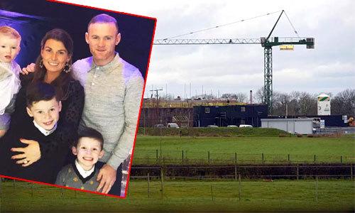 Rooney - Coleen xây biệt thự siêu rộng đón đứa con thứ 4