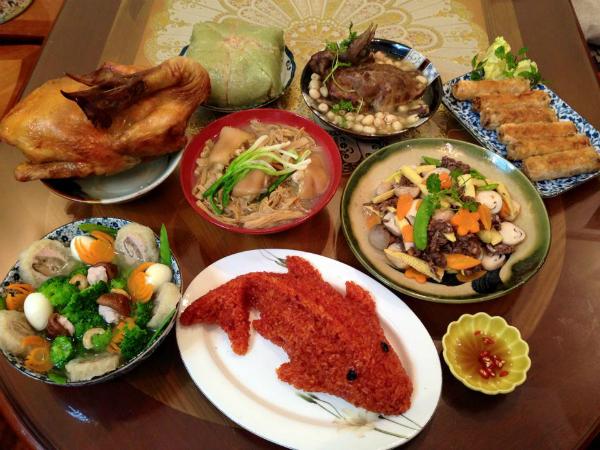 Hai món ăn mâm cúng ông Công ông Táo đặc trưng hai miền Bắc - Nam - 2