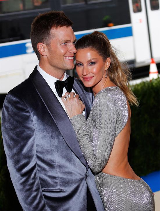 Gisele và Tom Brady./