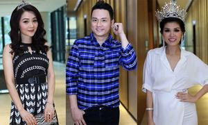 Hàn Thái Tú hội ngộ dàn người đẹp tại TP HCM