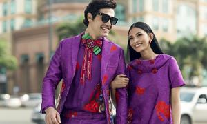 Đồ đôi cho mùa Valentine với sắc tím lãng mạn