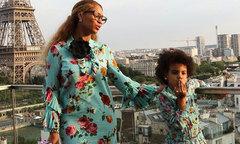 Váy áo hàng hiệu của con gái Beyonce