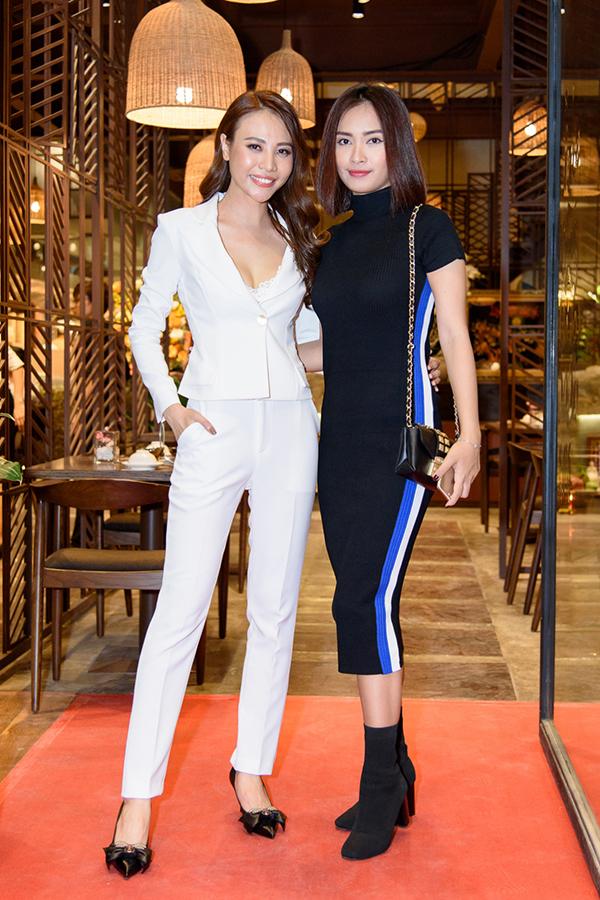 Cường Đô La dự khai trương nhà hàng của Đàm Thu Trang giữa tin tình cảm trục trặc - 5