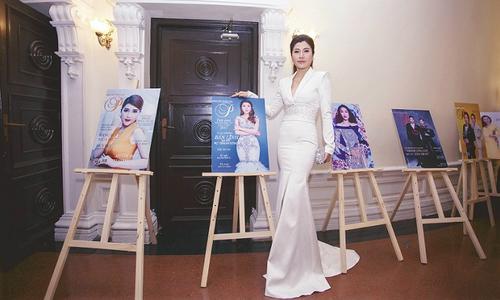 Hoa hậu Lâm Hải Vi nhận giải 'Người phụ nữ tạo xu hướng phong cách'
