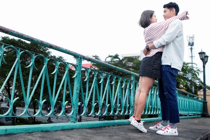 Quang Đăng, Thái Trinh khoe phong cách trẻ trung với BST Valentine của ALDO