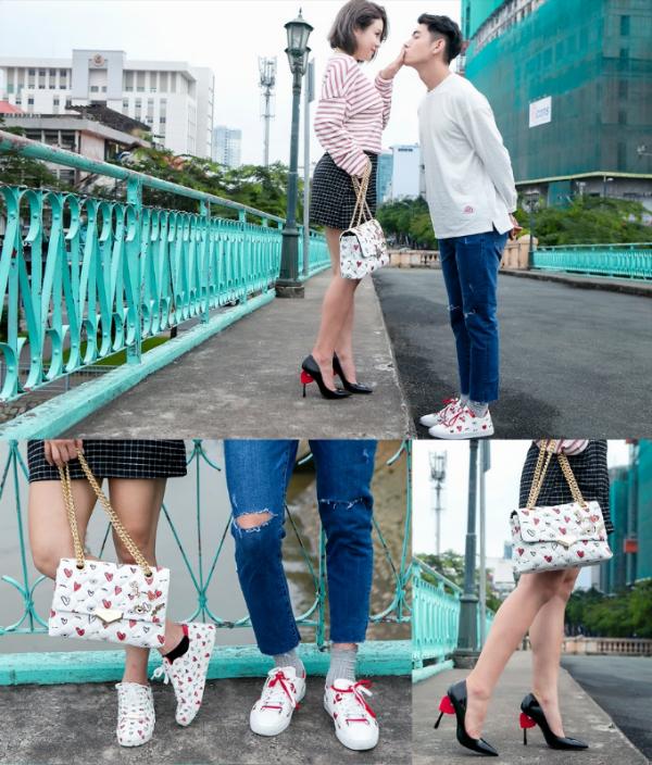 Quang Đăng, Thái Trinh khoe phong cách trẻ trung với BST Valentine của ALDO - 4