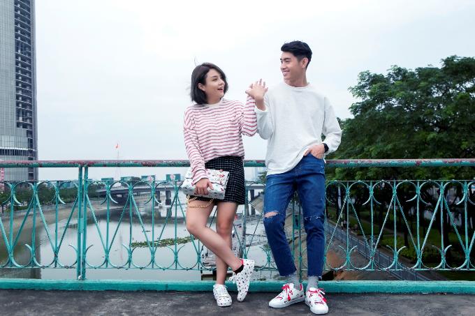 Quang Đăng, Thái Trinh khoe phong cách trẻ trung với BST Valentine của ALDO - 5