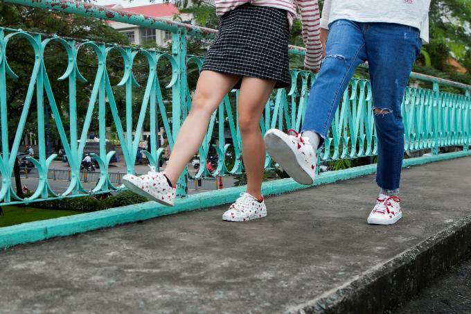 Quang Đăng, Thái Trinh khoe phong cách trẻ trung với BST Valentine của ALDO - 1