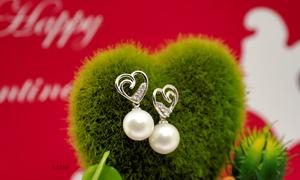 Trang sức ngọc trai tinh tế cho ngày Valentine