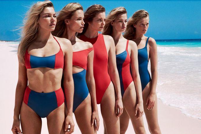 13 siêu mẫu khoe hình thể nóng bỏng trong quảng cáo áo tắm