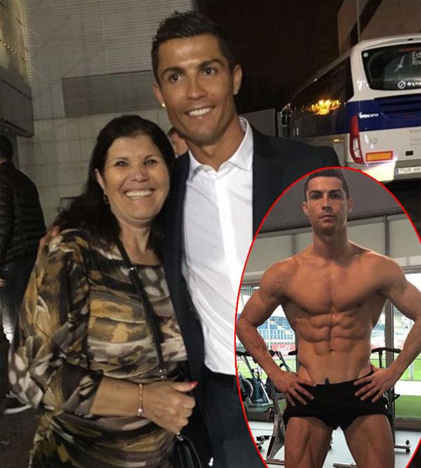 Mẹ và chị gái gửi lời chúc tới C. Ronaldo. Ảnh: NS.