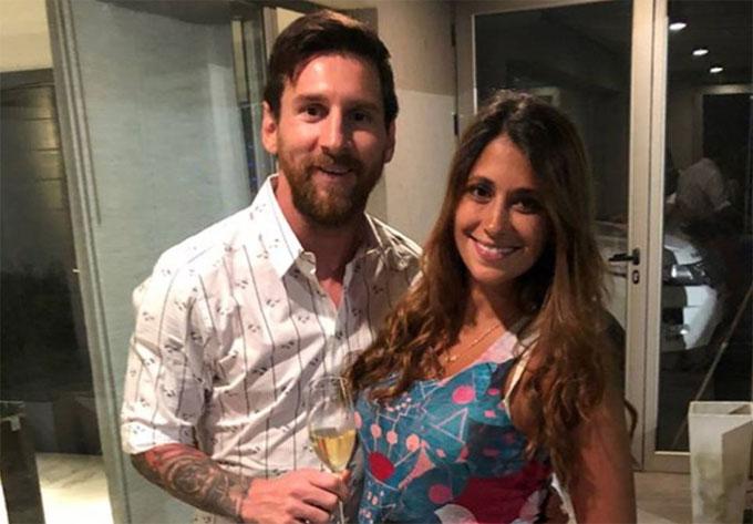 Messi khoe video con trai máy, bật mí tên độc đáo