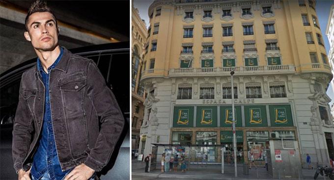 Hé lộ khách sạn sắp khai trương của C. Ronaldo