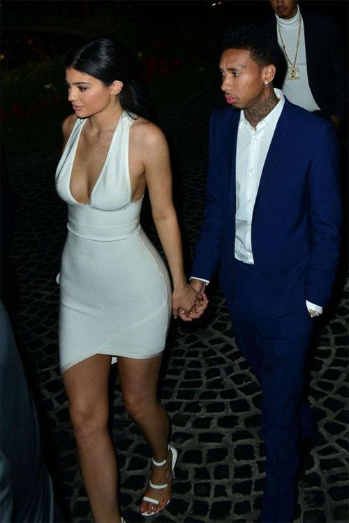 Kylie hẹn hò rapper gốc Việt từ cuối năm 2014.