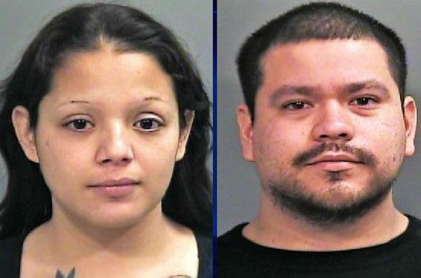Melissa Miranda và bạn trai đang bị bắt giam vì tội ngược đãi con.