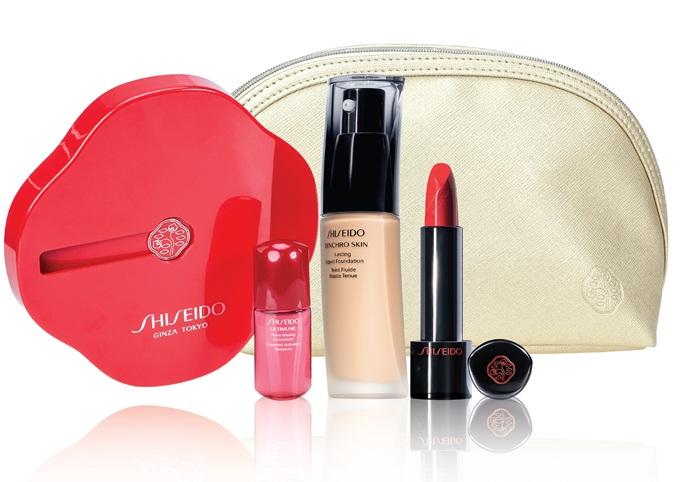 Bộ mỹ phẩm Shiseido với giá ưu đãi 1.999.000 Đ  ( Giá gốc 3.200.000 Đ)