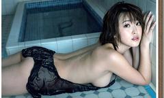 'Siêu vòng một' Nhật Bản Sara Oshino xấu hổ khi cởi đồ chụp ảnh khêu gợi