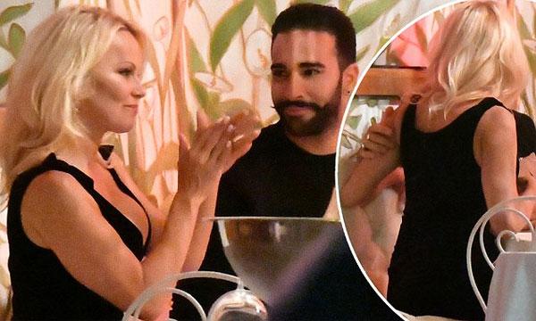 Bom sex Pamela Anderson lần đầu nói về việc cặp kè trung vệ phi công Rami