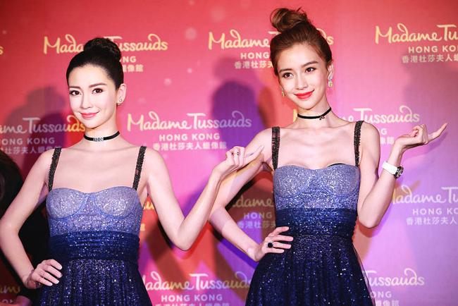 Mặc thời tiết giá lạnh, ngôi sao Hoa ngữ diện trang phục gợi cảm và khoe ngực sexy.