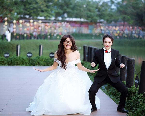 Ảnh cưới phá cách của cặp đôi gây sốt cộng đồng