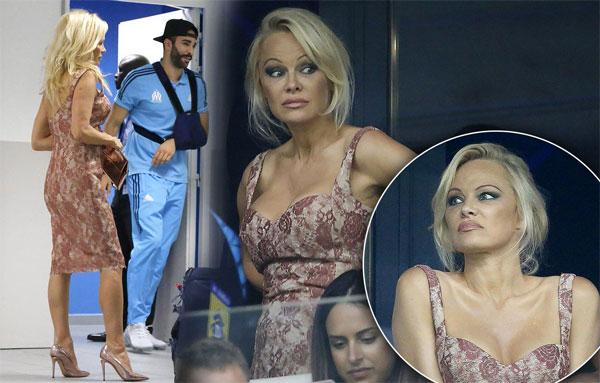 Bom sex Pamela Anderson lần đầu nói về việc cặp kè trung vệ phi công Rami - 1