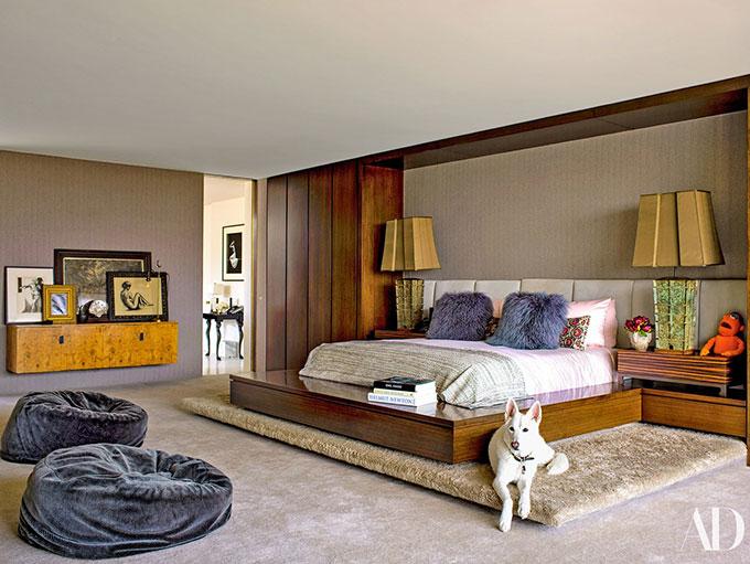 Ngôi sao Friends không thích một không gian quá kiểu cách mà muốn tạo không khí ấm cúng, thoải mái cho ngôi nhà của mình.