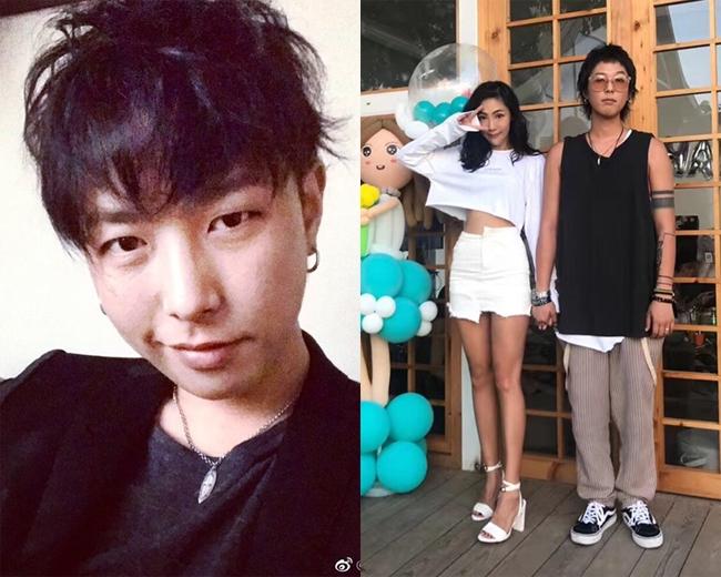 Kim Han Il và bạn gái người Trung Quốc.