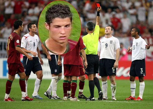 C. Ronaldo và Rooney
