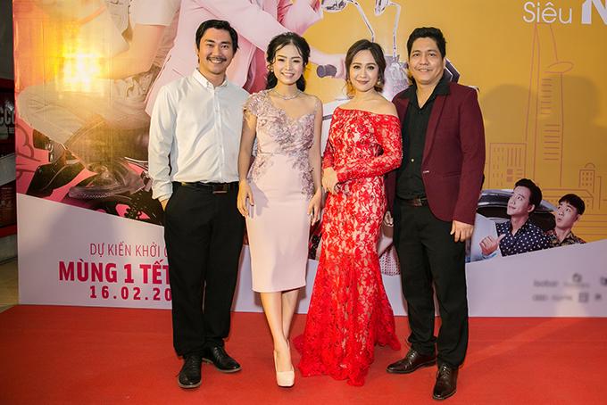 Vợ chồng Thanh Thuý hội ngộ nhà James Ngô - Khánh Hiền.