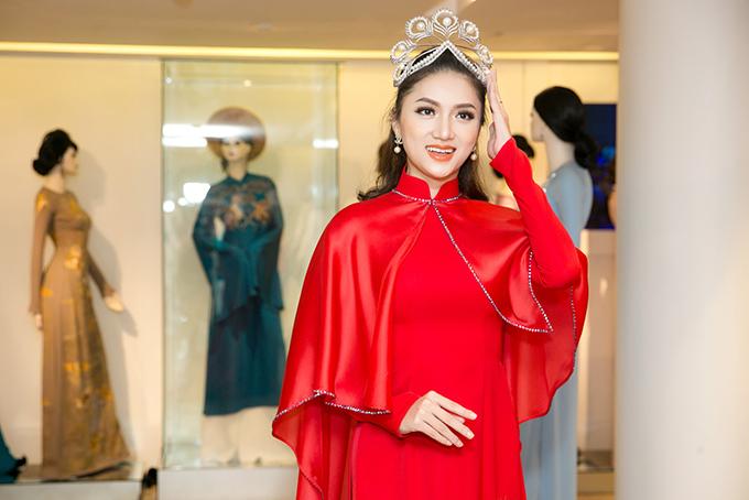 Hương Giang được Mr. Đàm tư vấn chọn áo dài thi Hoa hậu Chuyển giới - 6