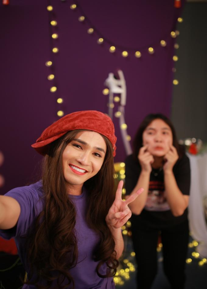 Huỳnh Lập ra mắt MV Mặt trời của em phiên bản parody hài hước - 2