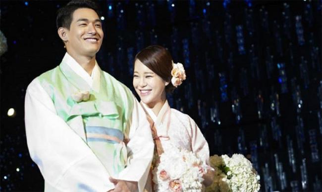Baek Ji Young và chồng, Jung Suk Won.
