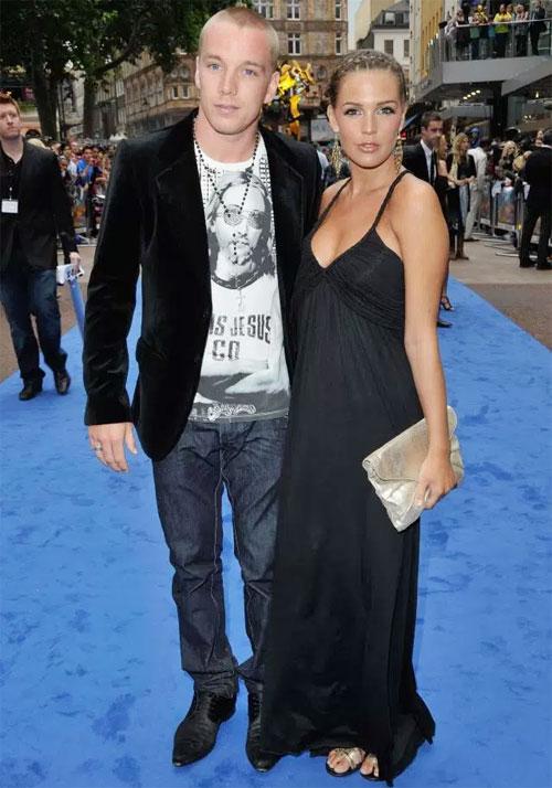 Cựu hoa hậu Anh và chồng cũ Jamie OHara