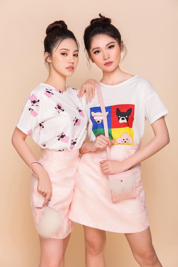 Bộ ảnh được thực hiện với sự hỗ trợ của nhiếp ảnh Huy Nguyễn, trang điểm Quân Nguyễn, Hoàng Hiển.