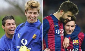 10 danh thủ từng thi đấu cùng cả C. Ronaldo và Messi