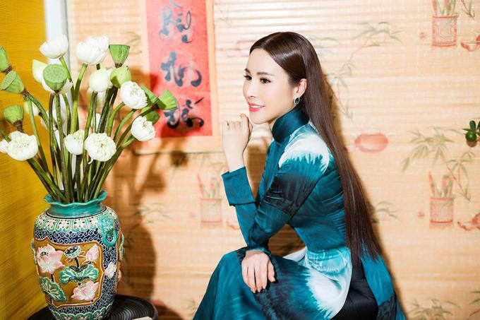 Tân Hoa hậu cao 1m68, nặng 49 kg, số đo ba vòng 88 - 58 - 90. Cô gây ấn tượng với ban giám khảo bởi vẻ đẹp thuần Việt, nụ cười tỏa sáng và khả năng trình diễn tốt.