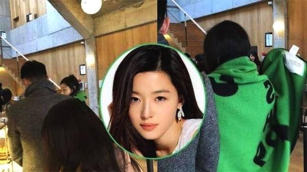 Jeon Ji Hyun cùngông xãđi shopping hôm 10/2.