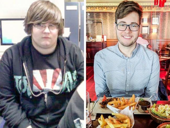 Chàng trai này mất tới 4 năm để thay đổi bản thân nhưng kết quả nhận lại xứng đáng với nỗ lực mà cậu bỏ ra.