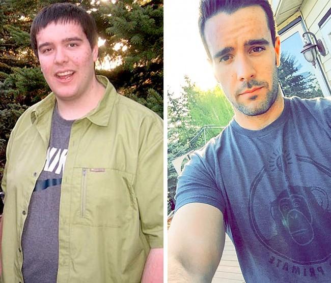 Việc giảm thành công 55 kg đã mang đến cho chàng trai này một cuộc sống hoàn toàn mới.