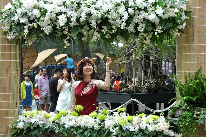 Công viên Sài Gòn đồng loạt đón khách du xuân