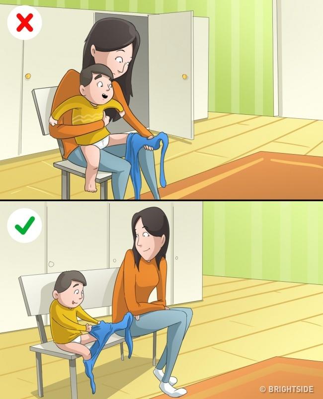 10 điều cha mẹ làm thay con có thể khiến trẻ trở nên nổi loạn - 3