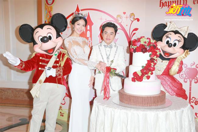 Hoa hậu Hoa kiều kỷ niệm 4 năm hôn nhân như mơ bên chú lùn TVB