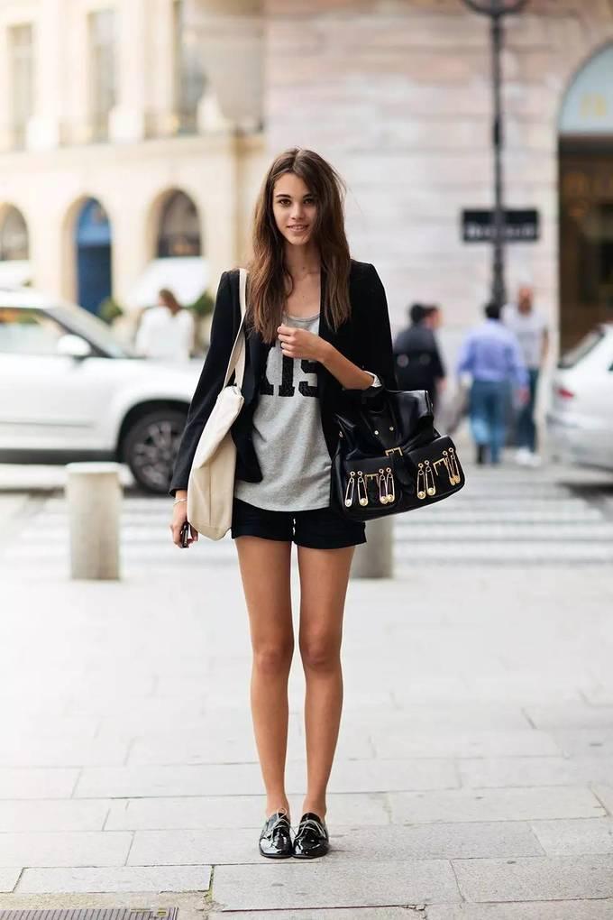 Đủ kiểu mix giày Oxford hợp mốt